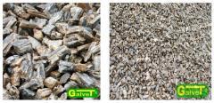 Natural calibrated stones