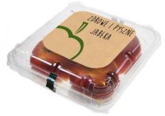 Opakowania plastikowe na owoce i sałatki