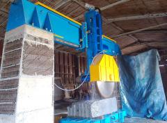 The equipment for processing a stone