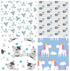 Tkanina bawełnia- wzory dziecięce