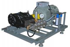 High pressure equipment (hydro-jet units)