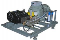 Water-jet and blasting equipment, high-pressure