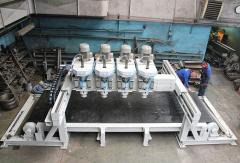 Automatic polishing machinery