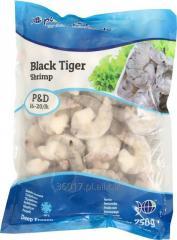 Krewetki mrożone Vannamei i Black Tiger