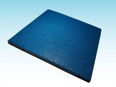 Mata płyta kostka gumowa SBR EPDM 50 cm x 50 cm grubość 1 cm - 6 cm