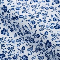 Tkanina koszulowa drukowana Skład 55% Co 45 % Pes