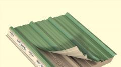 Płyty dachowe z profilowaniem trapezowym QuadCore KS1000 RW