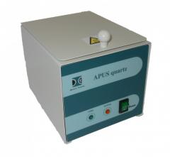 Sterilizer with balls of quartz APUS
