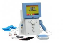 Apparatus for laser therapy, electrotherapy, magnet therapy and ultrasound therapy BTL 5816 SLM Combi