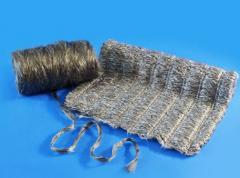 Mata bazaltowa z włókien teksturyzowanych