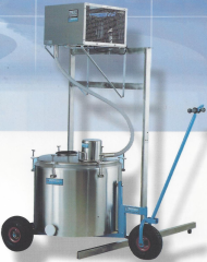 Schładzalnik do mleka nurnikowy przewoźny - model ALSN