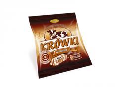 Krówki kakaowe zawijane ręcznie