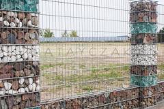 Panele gabionowe  250 cm Panel gabionowy Gabion Gabiony Ogrodzenie