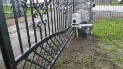 Brama dwuskrzydłowa automatyczna