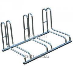 Stojak metalowy na rowery 2-3-4-5 stanowiskowy Lux