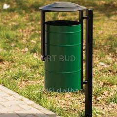 Kosz Miejski na śmieci pojemność 30L
