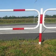 Bariera chodnikowa, blokująca U 12 Olsztyńska, długość 2 m