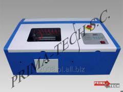 Ploter laserowy 30x20 mały, laser CO2 40W