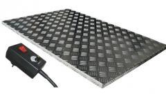 Aluminiowy podest grzejny o dużej efektywności i niskim koszcie eksploatacji