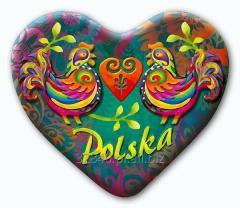 Magnes na lodówkę Polska Folk