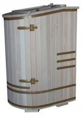 Fitobeczka z cedru syberyjskiego mini sauna kompaktowa