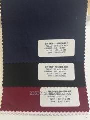 Tkanina koszulowa Satyna z Elastanem , Skład Tkaniny 97 % Bawełny i 3 % Elastanu , Wykończenie tkaniny EASY CARE