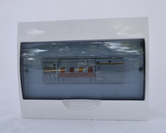 Control box for three-phase boilers from 6kW to 25kW