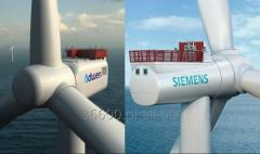 Generatory 0,25 do 2,5 MW Siemens i Vestas do demontazu w Niemczech