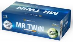 Gilzy papierosowe Mr Twin z kapsułką mentolową