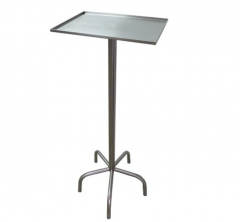 Asystor - stolik narzredziowy weterynaryjny ze stali nierdzewnej
