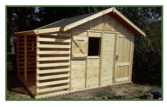 Domek ogrodowy z drewna sosnowego, możliwość ocieplenia