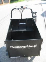 FlexiCargoBike 4KIDs rower towarowy cargo riksza