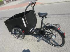 Rower elektryczny towarowy Maluch e-4KIDs Flexi
