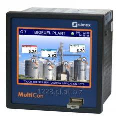 Wielokanałowy regulator/rejestrator danych MultiCon CMC-99