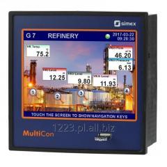 Wielokanałowy regulator/rejestrator danych MultiCon CMC-141