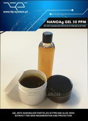 Przeciwbakteryjny żel z nanosrebrem o stężeniu 50 ppm nano srebro