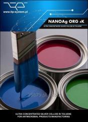Nanosrebro w rozpuszczalniku organicznym o stężeniu 4000 ppm nano srebro