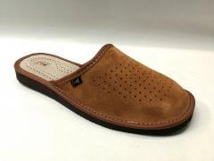 | Pantofle Męskie| ZAMSZ | 10 PAR