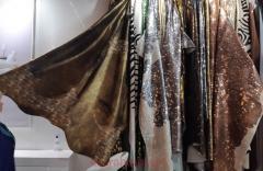 Luksusowy dywan ze skóry oksydowany szlachetnie