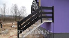 [Copy] Balustrady, ogrodzenia metalowo- drewniane.