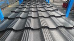 Line for profiling modular metal roof tiles D20