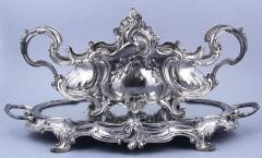 Środek stołu w stylu Ludwika XV