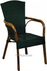 Krzesło z technorattanu Santa Fe classic mocca