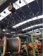 Liny stalowe do zastosowań przemysłowych