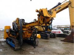 Vertical Drilling, root bolting Klemm KR 806-3