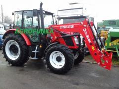 Tractor Front Loader ZETOR 1600kg metal technik