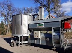 مجموعات من المعدات اللازمة لتجهيز الحبوب المائية
