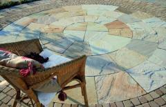 Tiles polymer-sand