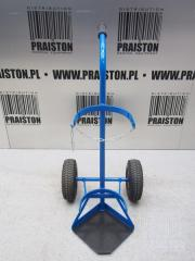 Trolley for transporting gas cylinders (blue)