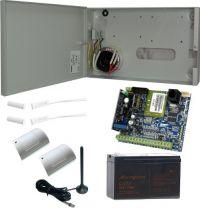 Zestaw alarmowy z powiadomieniem i sterowaniem GSM